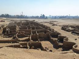 3,400 years old city found under the sand in Egypt